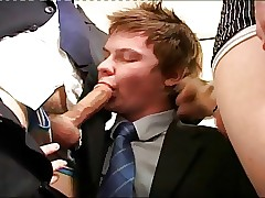 office gay porn : gay public blowjob